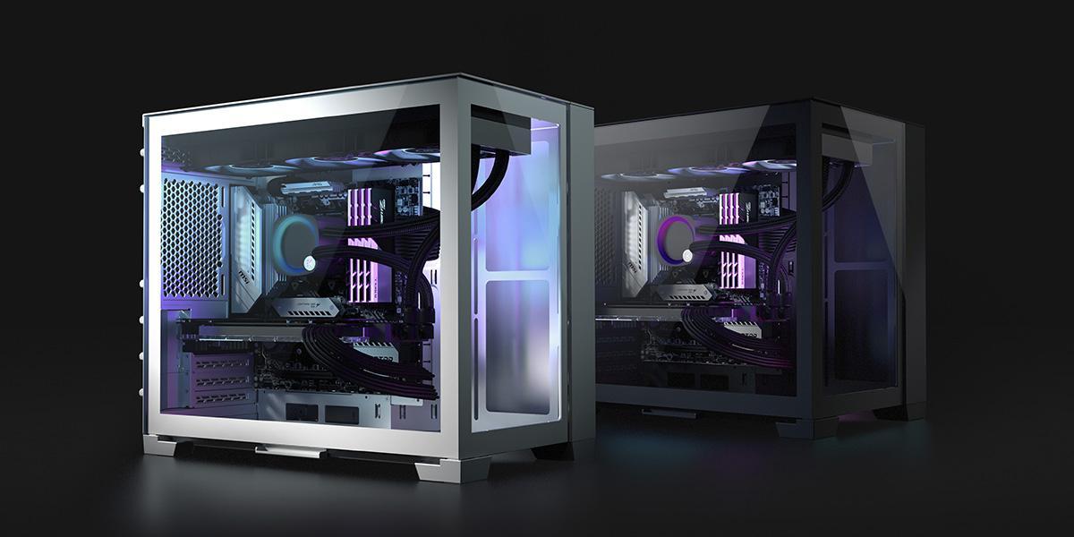 NEW EK FLUID GAMING SMALL FORM FACTOR GAMING PC FEATURES EK AIO PLUS