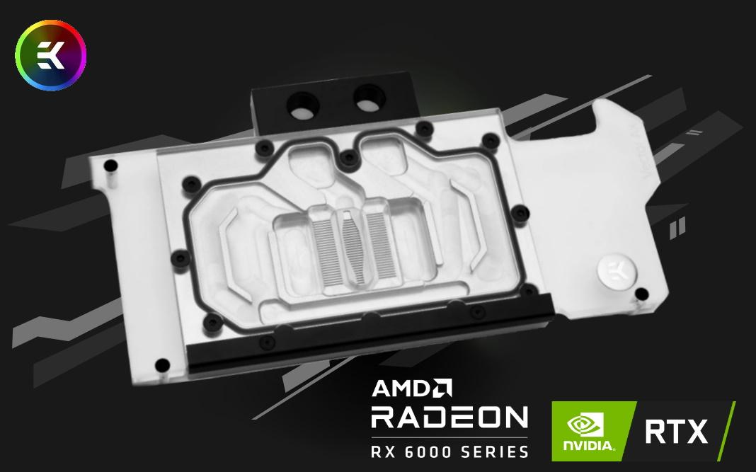 NVIDIA RTX 3000 & AMD Radeon RX 6000 D-RGB Waterblocks - Now Available