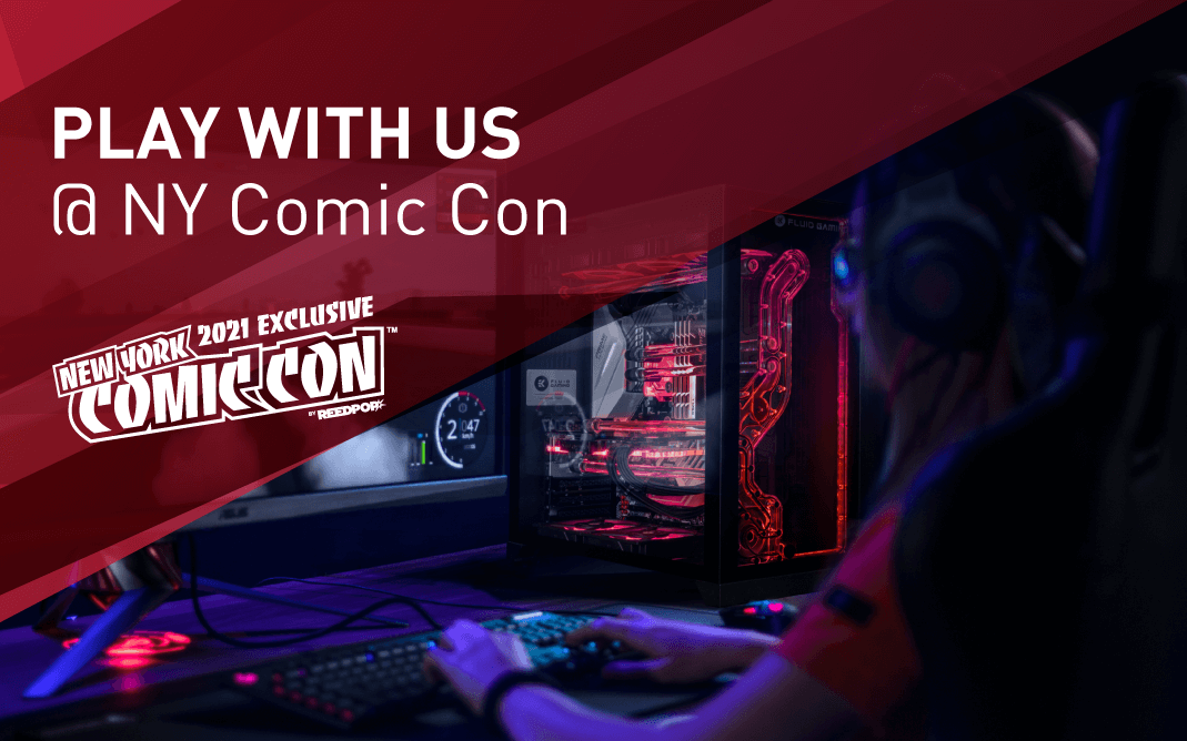 EK HEADS TO NYC FOR COMIC CON 2021