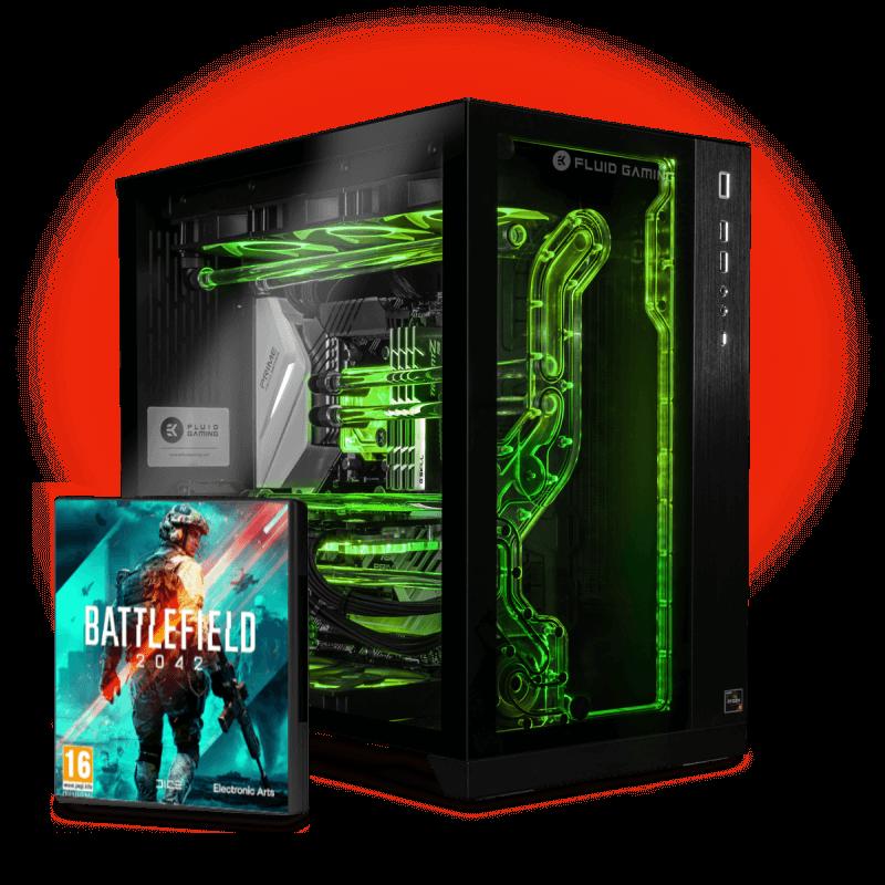 EK-Fluid Gaming PC 275 Vanquish