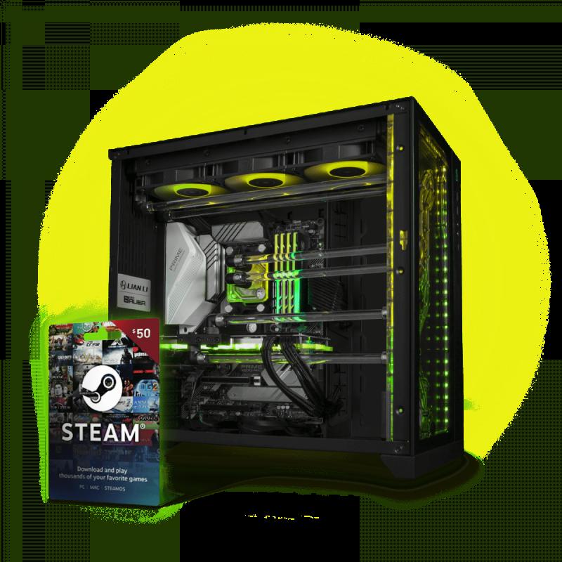 EK-Fluid Gaming PC 250 Vanquish